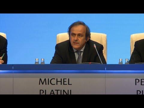 UEFA-Präsident Michel Platini: