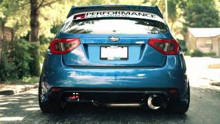 L-SCHLEGS 08 STI - Greddy TI-C Exhaust - Equal Length Headers