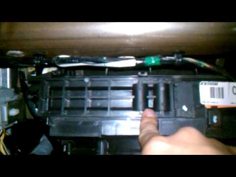 2005 Honda Civic Cabin Air Filter Replacement