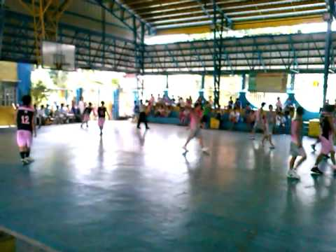 Manggahan Basketball League 2013 - The Final ( Gray vs. Pink ) 4th Quarter