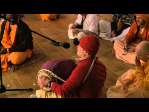 2011.01.16. Mangala Arati - Vaishnava Winter Festival - Lithuania video