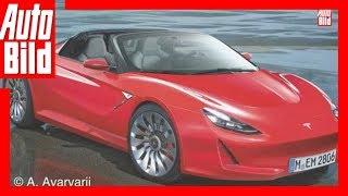 Zukunftsaussicht: Tesla Roadster (2019) Details/Erklärung