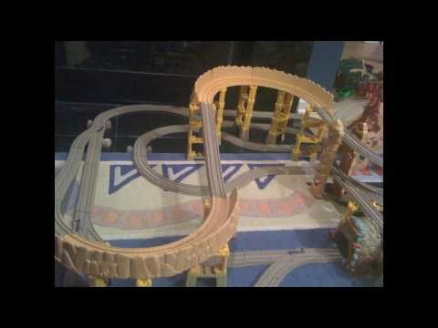 Mikey's 2010 Thomas Trackmaster Layout Showcase Video