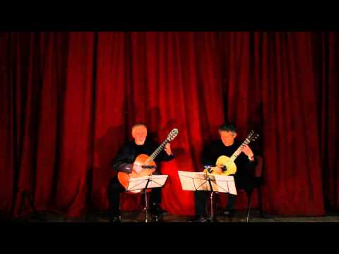 The Carina Guitar Duo: 'Toy for two Lutes'