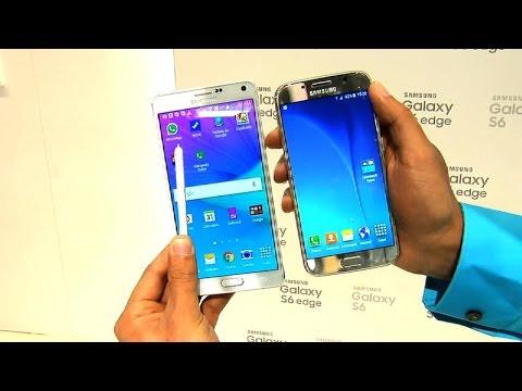 Samsung Galaxy S6 vs Galaxy Note 4: comparación de los dos celulares insignia