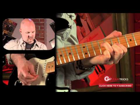 David Gilmour Style Lesson - Rock Guitar Lesson - Easy Guitar Lesson - Guitar Tricks 113