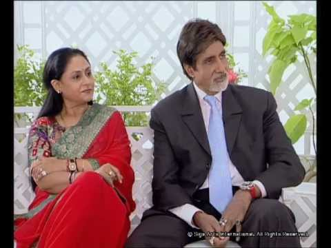 Rendezvous with Simi Garewal Amitabh Bachchan & Family Part 1