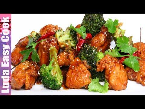 Простое блюдо АЗИАТСКОЙ КУХНИ вкусно и очень быстро к обеду или ужину. КУРИЦА В СОУСЕ ТЕРИЯКИ