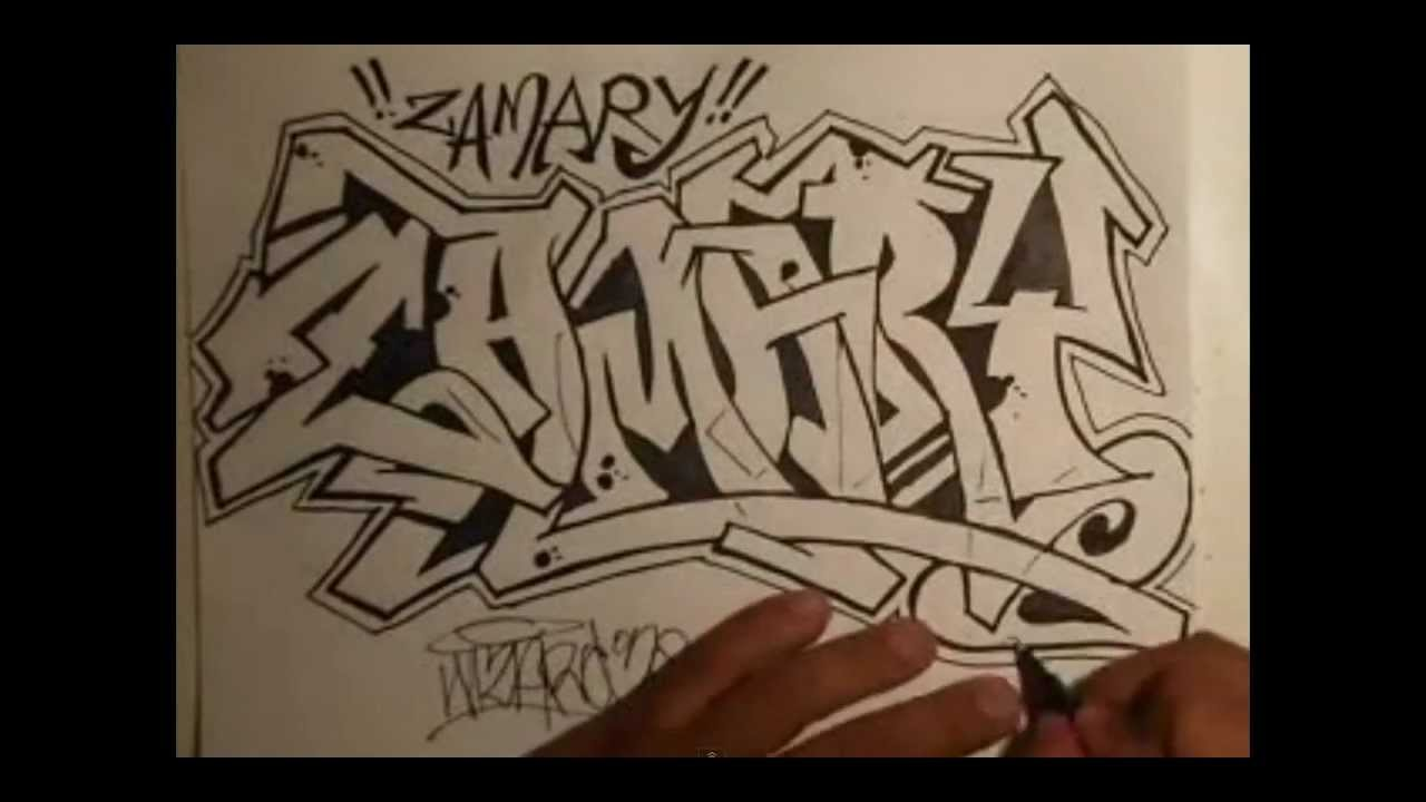 how to draw graffiti by wizard youtube. Black Bedroom Furniture Sets. Home Design Ideas