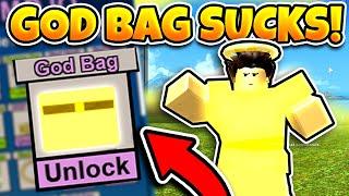 WHY YOU SHOULDN'T UNLOCK THE GOD BAG! (ROBLOX BOOGA BOOGA)