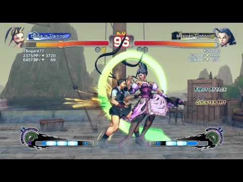 Match Comentado  Ssfiv Ae : P1 - Tbogard(ibuki) Vs P2 - Futanari (rose) video