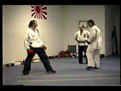 Isshinryu Karate Kumite Brown Belt Test 1992