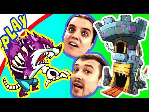 Улучшенная КОМАНДА БолтушкИ для Защиты БАШНИ! Вызов ПРоХоДиМЦу! #160 Игра для Детей - Tower Conquest