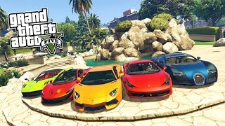 GTA 5 PC Mods - REAL LIFE CARS MOD #1! GTA 5 Real Cars Mod Gameplay! (GTA 5 Mod Gameplay)