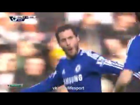 Eden Hazard Goal ~ Hull City vs Chelsea 2:2 ► Premier League 2015