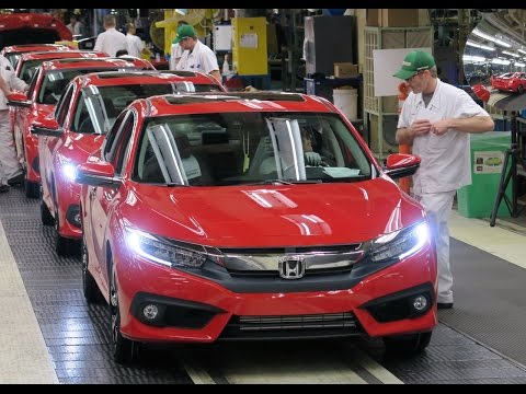 Honda News - 2016 CIVIC STARTS PRODUCTION - HRV GETS WORLD LOVE - MORE CIVIC TYPE R NEWS