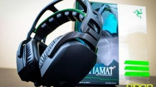 Razer Tiamat 2.2 Analog Gaming Headset Unboxing + Written Review