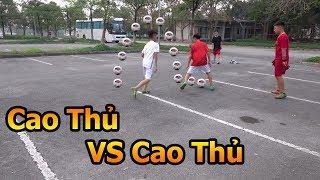 Thử Thách Bóng Đá 3vs3 Team Duy Trung đấu Team Neymar nhí Việt Nam với trọng tài Đỗ Kim Phúc