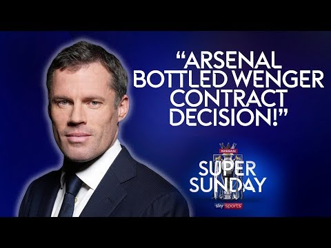 Arsenal are cowards and bottled Wenger contract decision | Jamie Carragher  | Liverpool 4-0 Arsenal