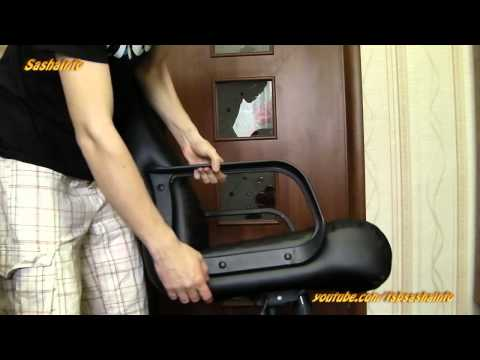 Обзор кресла AMF Атлантис Пластик Кожа Сплит