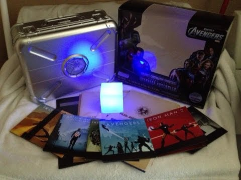 Marvel Cinematic Universe: Phase One - Avengers Assembled Blu-ray UNBOXING - (2008-2012))