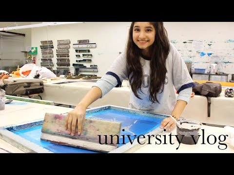 Days in the Life of a Fashion Student | UNIVERSITY VLOG #LASALLE