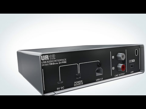 Steinberg UR12 USB audio interface