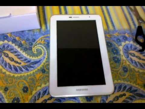 Unboxing Tablet Samsung Galaxy Tab 2 7.0 - P3100
