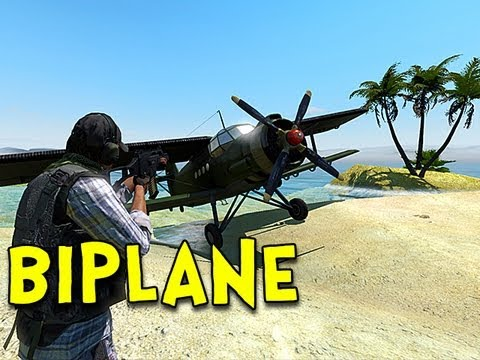 BIPLANE! - Arma 2: DayZ Mod - Ep.23