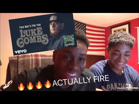 BLACK PEOPLE REACT TO COUNTRY MUSIC!! - Luke Combs - Must've Never met You !!