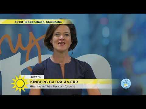 """Anna Kinberg Batra: """"Att jag avgår betyder inte att Moderaternas problem är lösta"""" - Nyhet"""