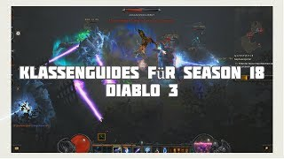 Diablo 3: Die Besten Klassen für Season 18 (Meta, Saison der Dreieinigkeit)