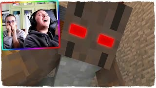 THE GRANNY'S HOUSE IN MINECRAFT! - REALISTIC ANIMATION OF TERROR (VIDEO REACTION)