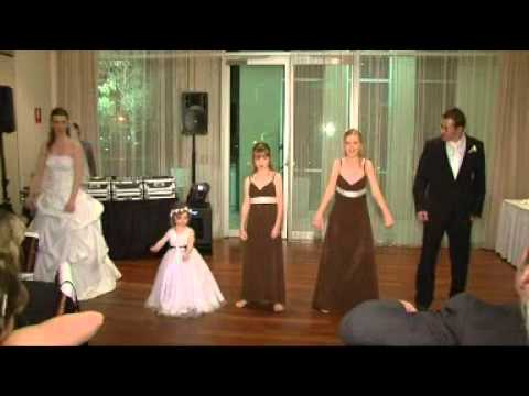 Warren Amp Suzannes Surprise Funny Wedding Dance HIJACKED BY THE DANCING GIRLS