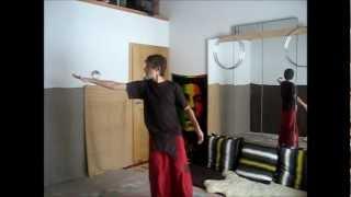 1 ball Contact Juggling: Exploration #1