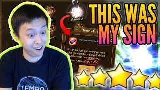 LUCKY Day For Me?! - TOA Rush / My Summons! NAT 5! / Ancient Crystal Shop Refreshes! - Summoners War