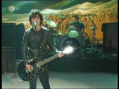 Green Day - Wake Me Up When September Ends Live  Wetten Dass...