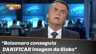 "Joel: ""Jair Bolsonaro conseguiu DANIFICAR imagem da Globo"""