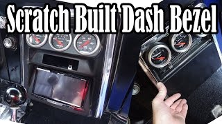 Scratch Built Dash Bezel to fit a double din Pioneer headunit