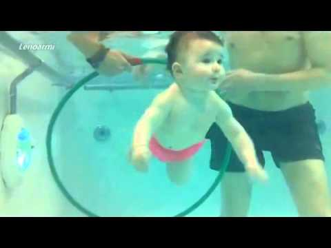 Babies Swimming video
