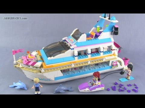 LEGO Friends Dolphin Cruiser 41015 set Review!