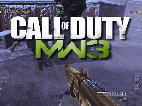 MW3 Funny Moments - Level 1 Noobs and Lag!