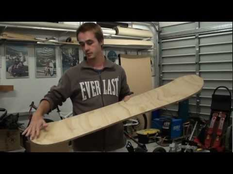 How to make your own Sandboard!