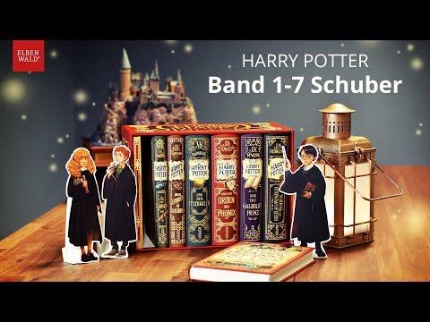 Die Harry Potter-Bücher als Jubiläumsausgaben im Schuber