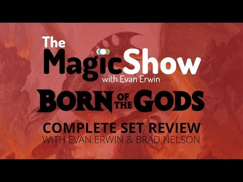 Born of the Gods Complete Set Review - Red
