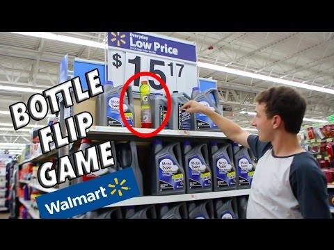 Ultimate Game of Bottle FLIP in Walmart! | *RYAN BRACKEN INSPIRED*