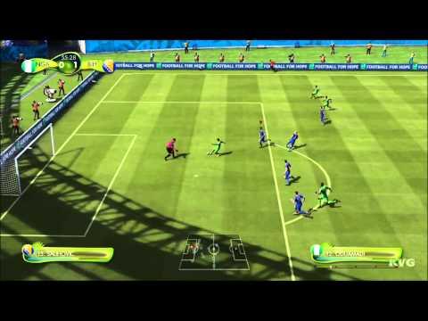 2014 FIFA World Cup Brazil - Nigeria vs Bosnia and Herzegovina Gameplay [HD]