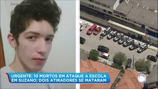 Vítimas são transferidas de Suzano (SP) para o Hospital das Clínicas, na capital