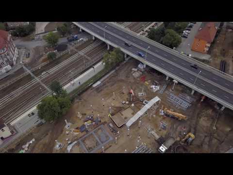 Budowa Centrum Przesiadkowego I Remont Dworcowej 19.07.2018