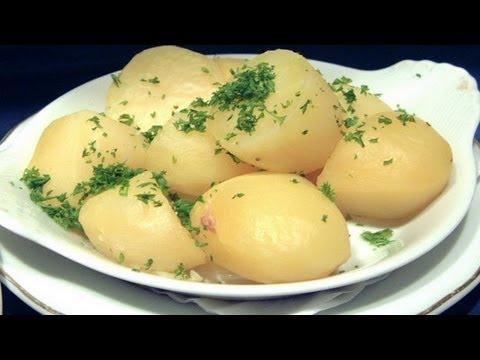 Как приготовить молодой, отварной картофель. | How to prepare young boiled potatoes.